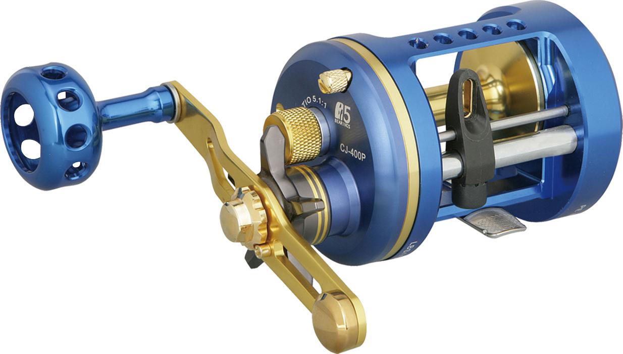 okuma全新的高性能双轴式小船卷线器,运用高